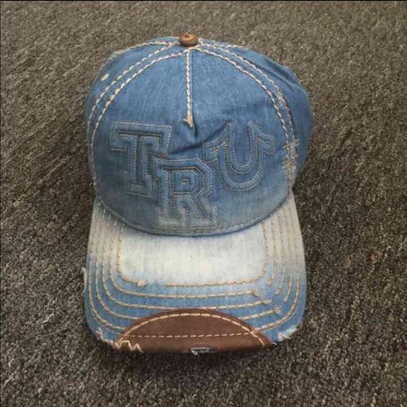 New True Religion Unisex Light Blue Hat 4efd384b0164
