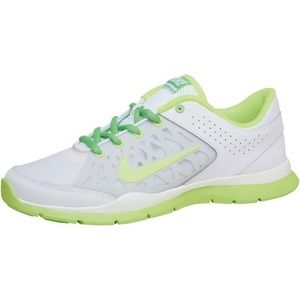 Nike Shoes - WMNS Nike Flex Trainer 3 White and Green 4476731b206e