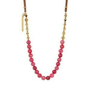 TRINA TURK mixed media necklace