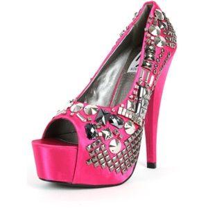 Kiss Kouture Shoes - Kiss Kouture Diva Pink Stiletto