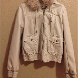 Forever 21 jacket with fur hood.