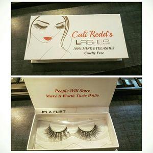 "Cali Redd's Mink Fur Lashes ""I'm a flirt"""