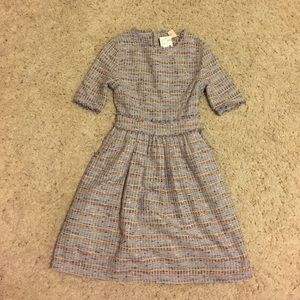 H&M Conscious Multicolor Tweed Dress