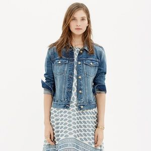 Madewell Jackets & Blazers - NWT Madewell The Jean Jacket in Sea Glass - Medium