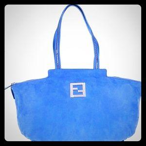 FENDI Tote Bag Lampo 8BR636