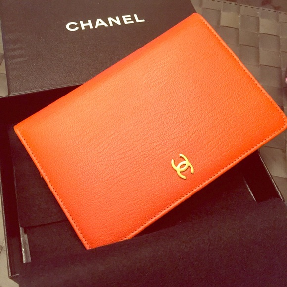 56c662a120bc CHANEL Clutches & Wallets - CHANEL passport holder/wallet