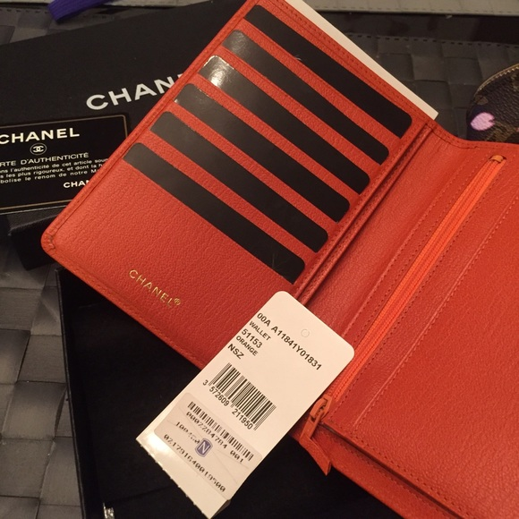63 off chanel clutches amp wallets chanel passport holder