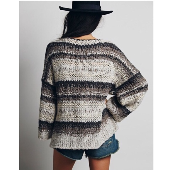 61% off Free People Sweaters - Free people slouchy knit pullover ...