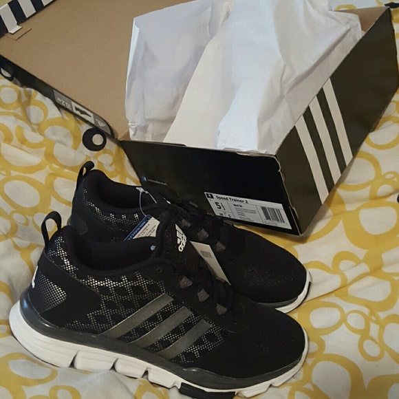 Adidas Speed Trainer 2 Black   Silver 9bdd7e0f5c