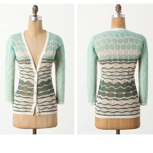 Anthropologie Ombré Breakers Cardigan