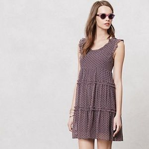 Anthropologie Sybeline Mesh Dress