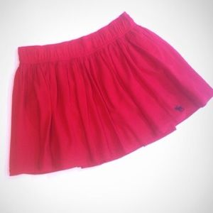 Abercrombie & Fitch Dresses & Skirts - 🎉HP🎉NWT Abercrombie Red Fully Lined Mini Skirt