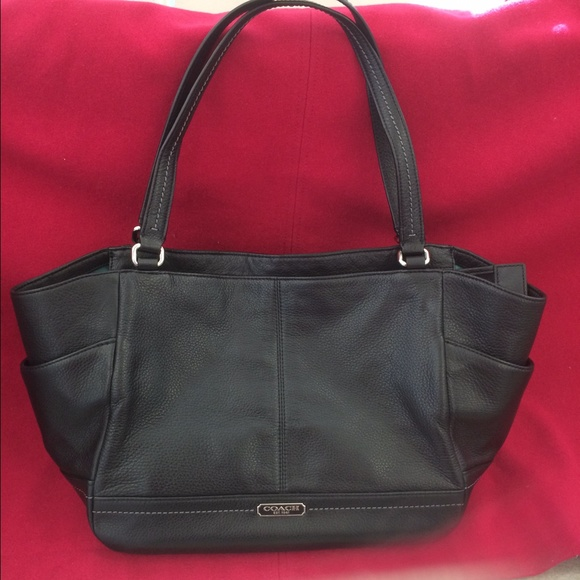 Coach Handbags - COACH Park Leather Carrie Tote aff0a52441ae6