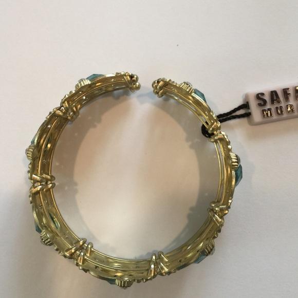 84 off safari murano jewelry safari murano new with tags enameled cuff bracelet from - Safari murano jewelry ...