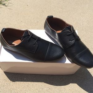 NIB Urban Outfitters Black Oxfords, Shoes, Prep: