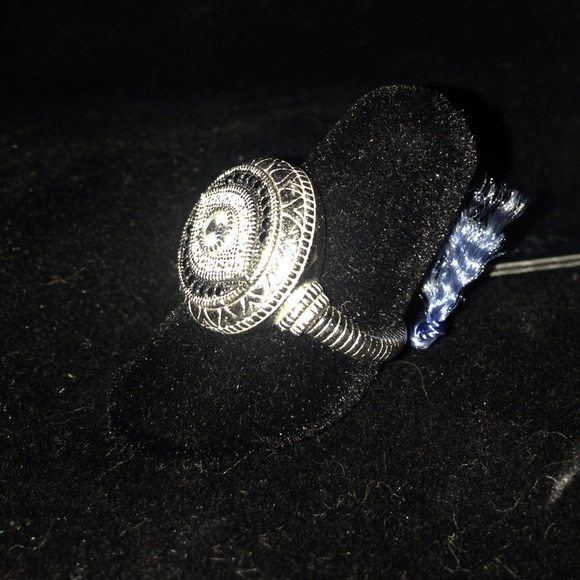 Sterling Silver Eye Ring By Contessa Di Capri 7 From K R