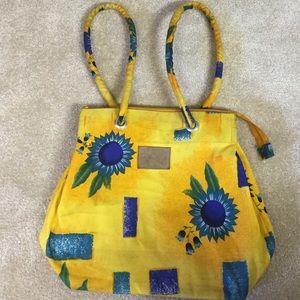 Other - Canvas Beach Bag