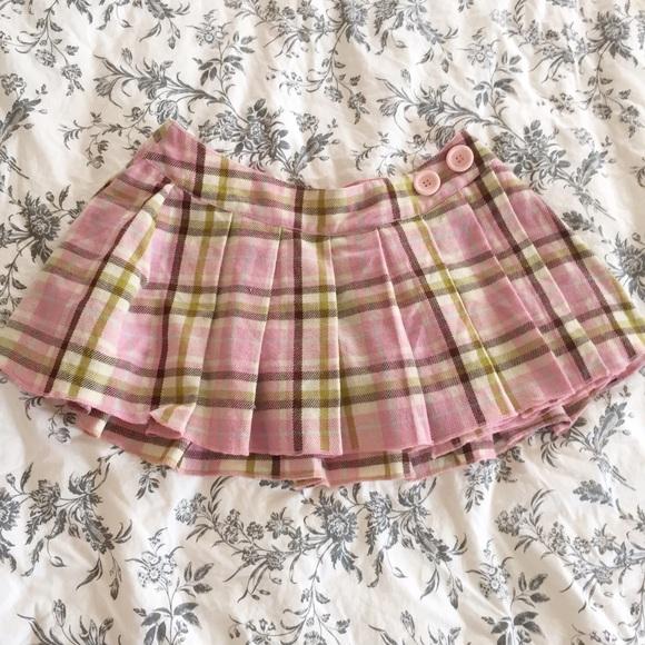 Paul Frank school girl pleat skirt