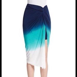 YOUNG FABULOUS & BROKE OMBRE KULANI SKIRT
