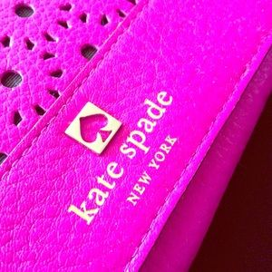 Kate spade perri lane wallet in fuchsia
