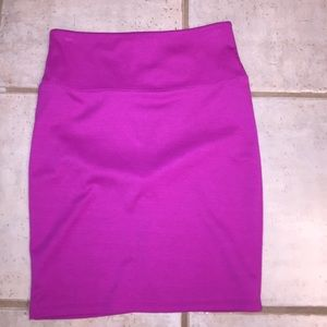 Pink pencil skirt knit SALE
