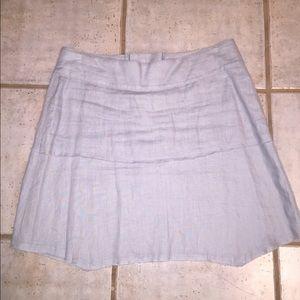 CAbi Dresses & Skirts - CAbi grey linen skirt