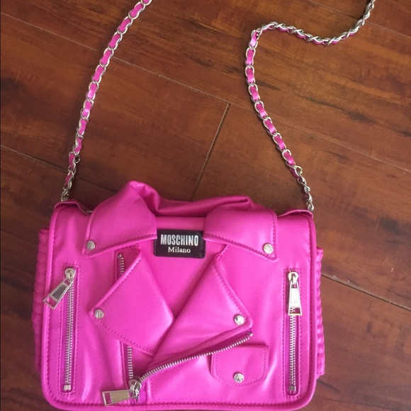 ac8f3806a692c Moschino Bags | Barbie Moto Bag Dupe Final Price | Poshmark