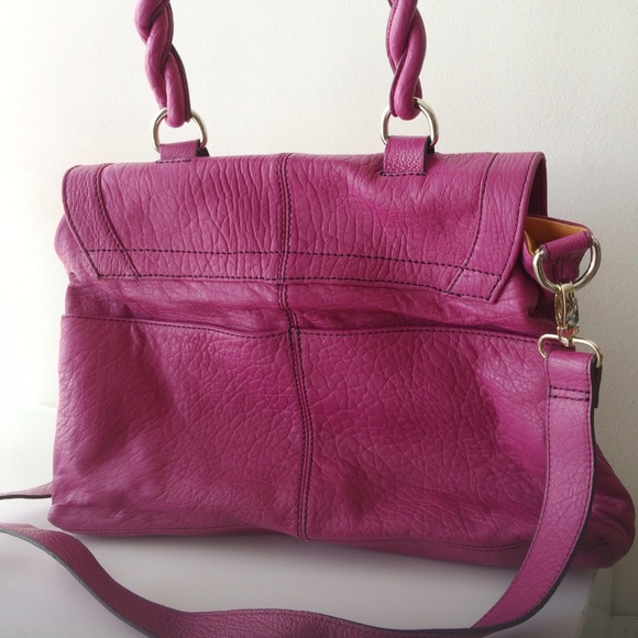 Hype Bags - Hype Rebecca Top Handle Satchel - Hibiscus