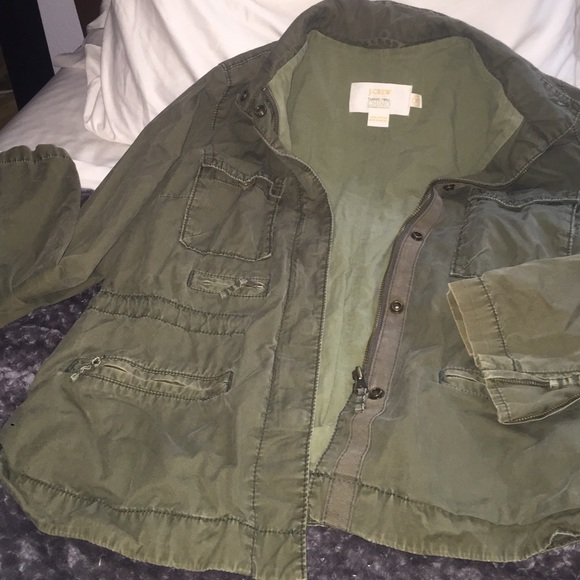 J. Crew - Comfy big green jacket. Army? from Melissa's closet on ...