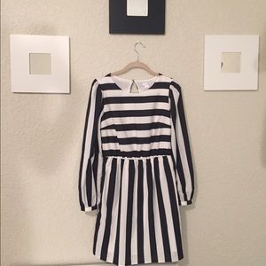 Black and white stripe dress!!!