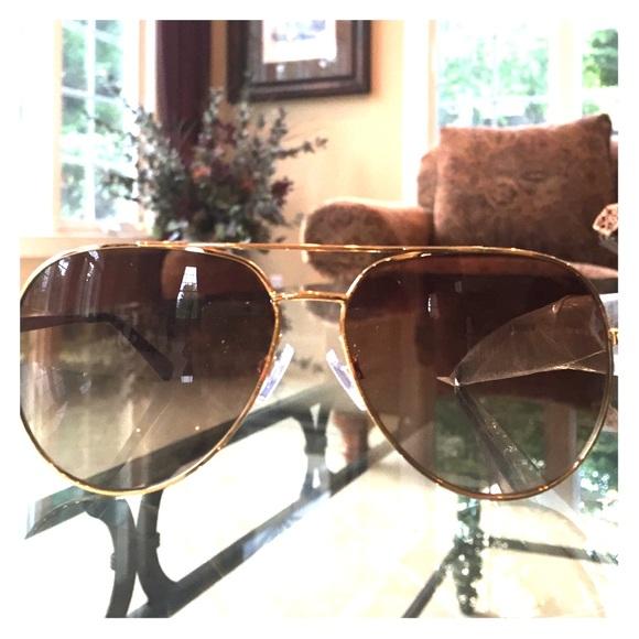 ab88bdb63c330 BRAND NEW MICHAEL KORS gold aviator sunglasses