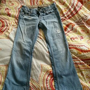 Distressed A/X jeans