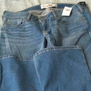 NWT Hollister boot cut jeans
