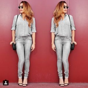 Zara Denim - Grey jeans