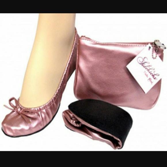2aebe670c Sidekicks Shoes | Foldable Flats Ballet Size 78 M | Poshmark