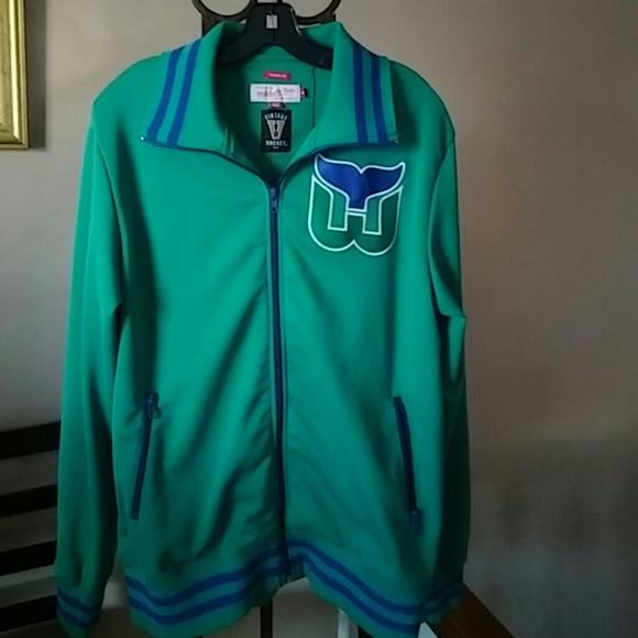 Authentic Mitchell   Ness Hartford Whalers Jacket.  M 55d5124178b31c4cbe00181d 260ddf618