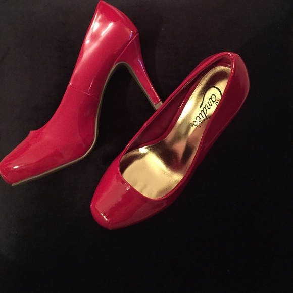 67% off Candie's Shoes - Red Candies Heels from Rachel's closet on ...