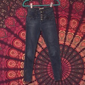 Full length jeans from free people
