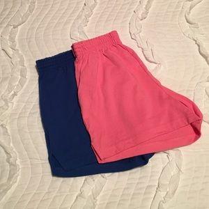 Soffe Pants - 2 Soffe shorts