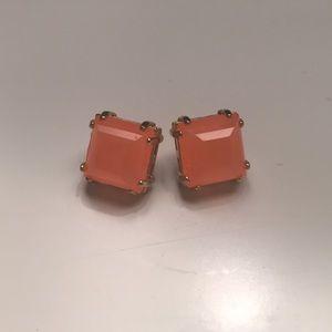 C. Wonder coral stud earrings