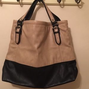 Zara faux leather tote