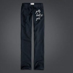 Gilly Hicks Pants - New Gilly Hicks Navy Blue Skinny Sweatpants small