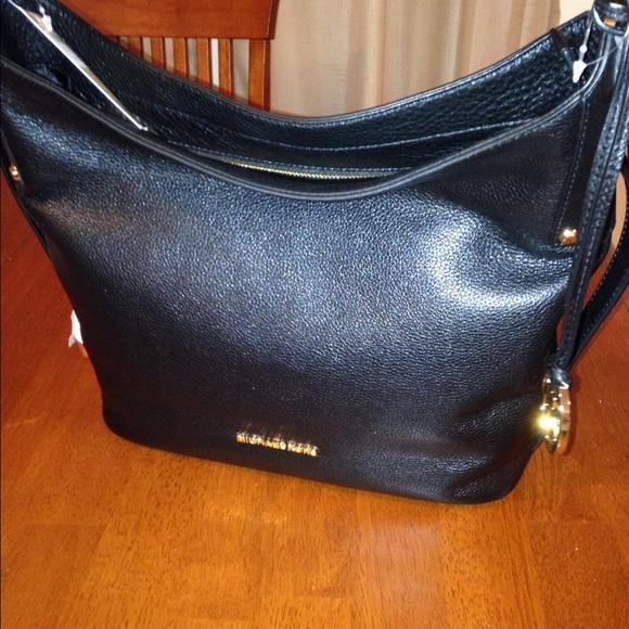 45d48a3c3417 Michael Kors Belted Bedford Shoulder Bag