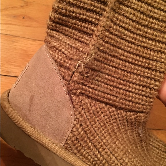 61% off UGG Boots - AUTHENTIC CROCHET UGGS from Alyssas closet on ...