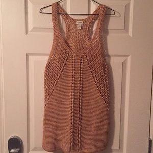 H&M Knit crochet tunic