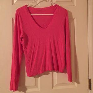 Banana Republic Pink Soft Tshirt-Size Med
