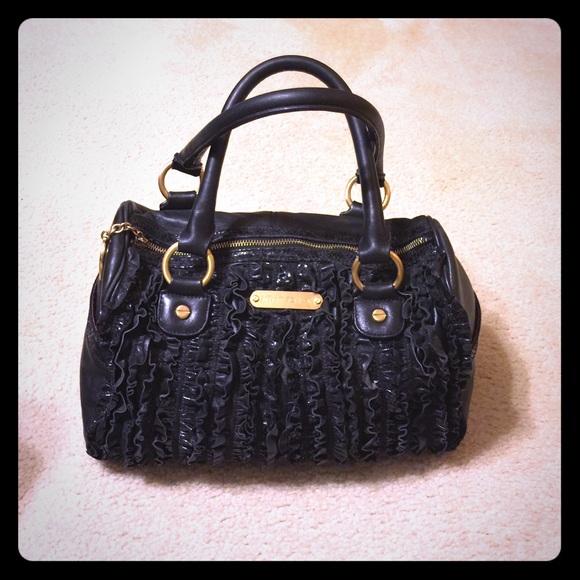 f314eb4fef80 Betsey Johnson Handbags - Betsey Johnson Rockstar Ruffle Satchel Purse