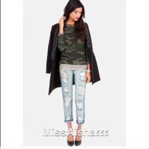  Boyfriend distress jeans BOGO SALE