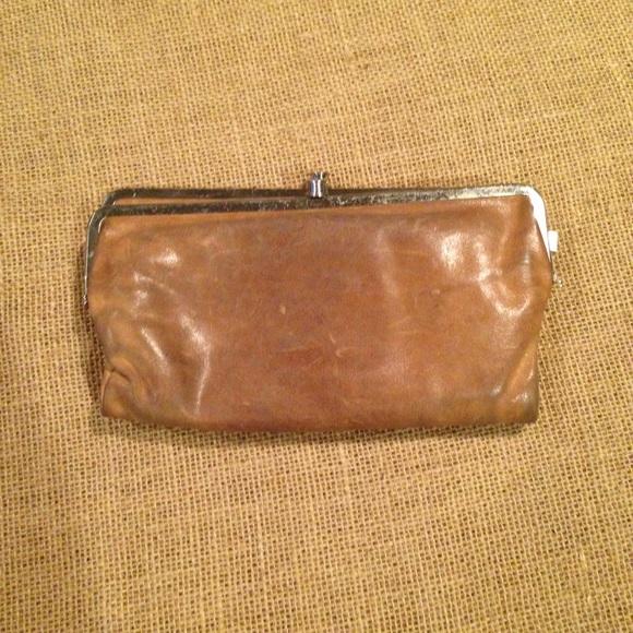 Hobo Bags Tan Lauren Double Frame Clutch Wallet Poshmark