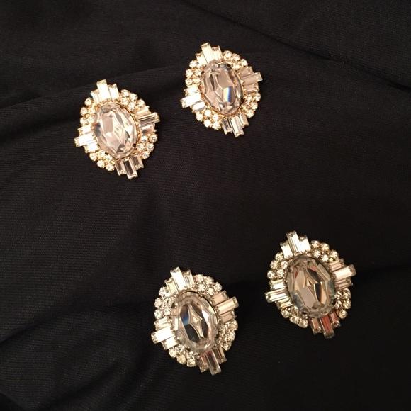7e2dd4ce4 Jimmy Crystal New York Jewelry | Swarovski Crystal Earrings | Poshmark